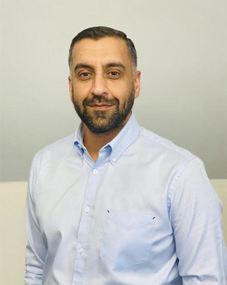 Team member Faisal
